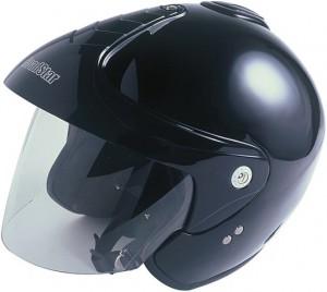Helm ohne feste Kinnfront
