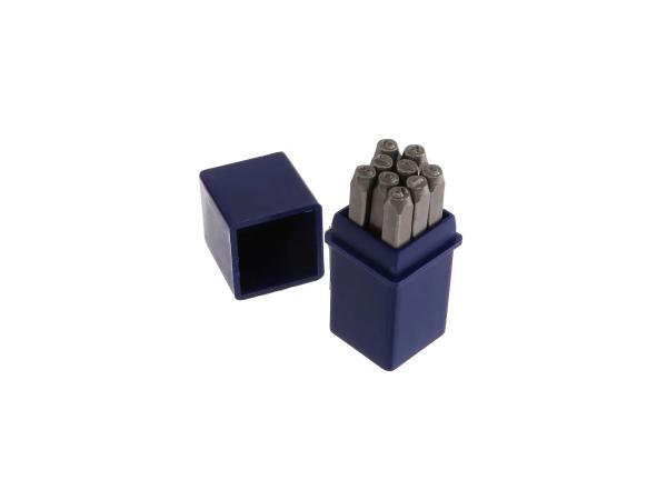 Set: Schlagzahlen - Ziffernhöhe: 3,0mm - Schriftart DIN1451