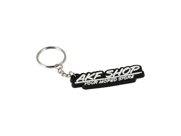 """10070092 Schlüsselanhänger """"AKF SHOP"""" aus Soft-PVC, mit Schlüsselring - Bild 1"""