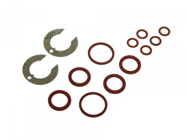 Carburettor gasket set BK 350 for 2 carburettors round slide BK350