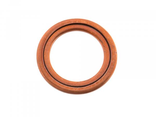 Filling ring C10x16x1,5, DIN 7603, copper for screw plug - Simson SR2, SR2E, KR50, SR4-1 Spatz