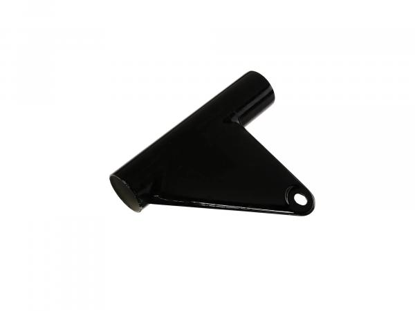 Headlight holder left (Ø35mm - version with aluminium sliding tube) - for MZ TS125, TS150