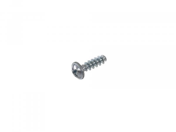 Oval-head tapping screw, cross-slotted, with flange 4.2x14 - DIN7981