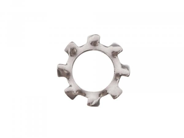 Toothed lock washer - A8.4 (DIN6797) A2