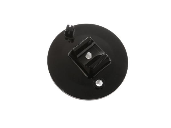 Bremsschild vorn, schwarz - Simson S50, S51, S70, S53, S83, SR50, SR80