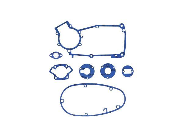 GP10000576 Dichtungssatz aus Kautasit Motortyp M53/2, Flanschdichtung Ø 21mm  - für Simson S50, Schwalbe KR51/1 - Bild 1