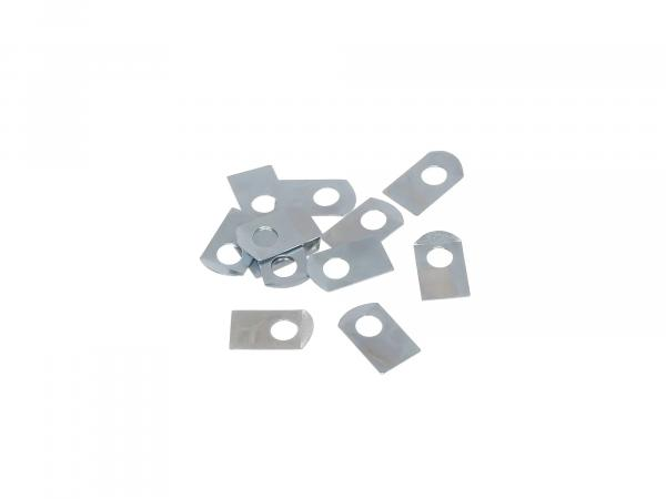 Set = 12x locking plate (oil guide plate and pressure flange - coupling) - for ETZ, TS, ES, ETS