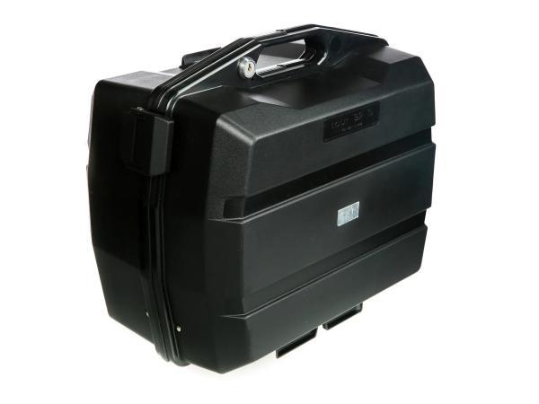 Koffer - Seitenkoffer für Motorrad Schwarz - 32l