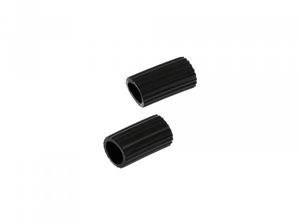 Set: 2x shift rocker padding, protection tube - Simson KR51 Schwalbe