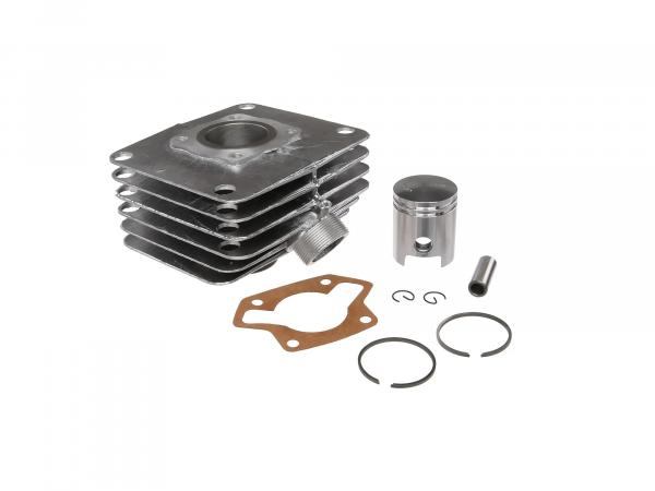 Set: 4-channel cylinder + piston, 60ccm - for Simson S51, KR51/2 Schwalbe, SR50