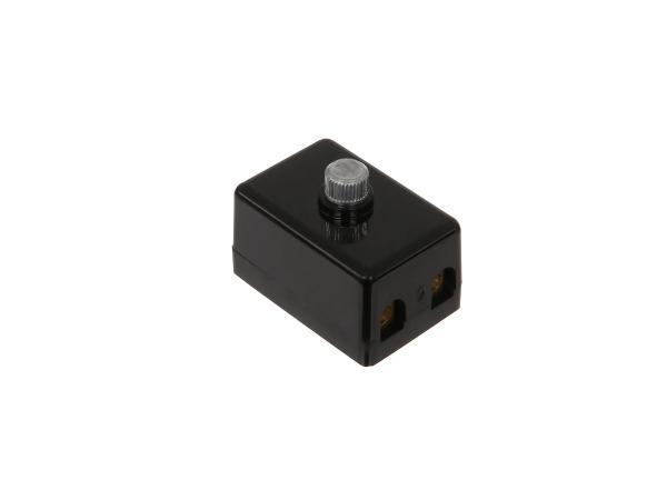10064001 Sicherungsdose 2-polig mit Deckel, Schraubanschlüsse, 8811.1/6 - MZ ES, ETS - Bild 1
