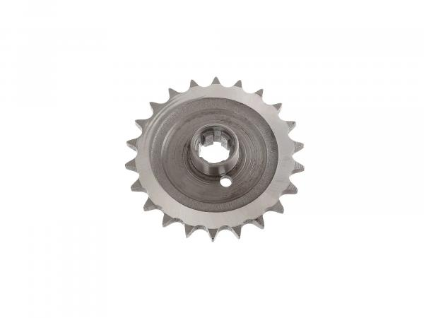 Drive pinion 22 Z - chain wheel - pass.  TS250 / 250/1, ETZ 250 / 251 / 301