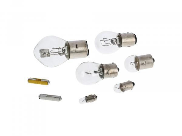 10069374 Glühlampensatz 12V 35/35W - für Simson S51, S70, SR50, SR80, S53, S83 - Bild 1