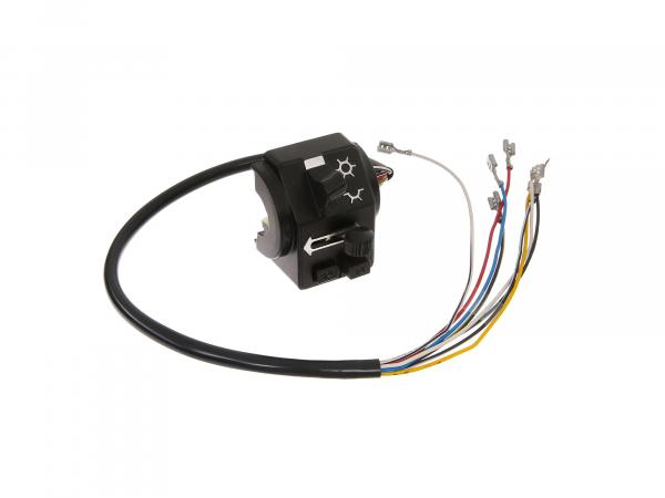 Switch combination 8626.19/2 with cable and headlight flasher - MZ ETZ125, ETZ150, ETZ250, ETZ251, ETZ301