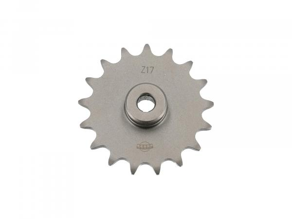 Output sprocket, sprocket 17 teeth (17Z.) for SR1, SR2, SR2E, KR50, SR4-1