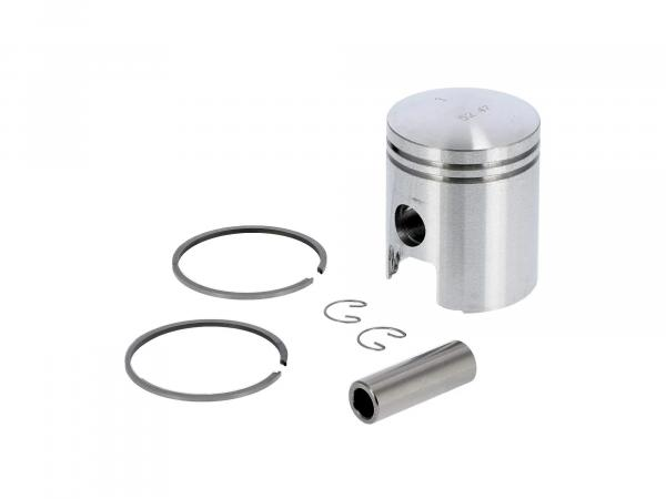 Piston for cylinder Ø52,50 - for MZ TS125, ES125, ETS125 - RT125 (15 mm piston pin)