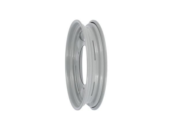 """Scheibenrad 2,1 x 12"""" Silber pulverbeschichtet - Simson SR50, SR80, SD 25/50, SRA 25/50"""