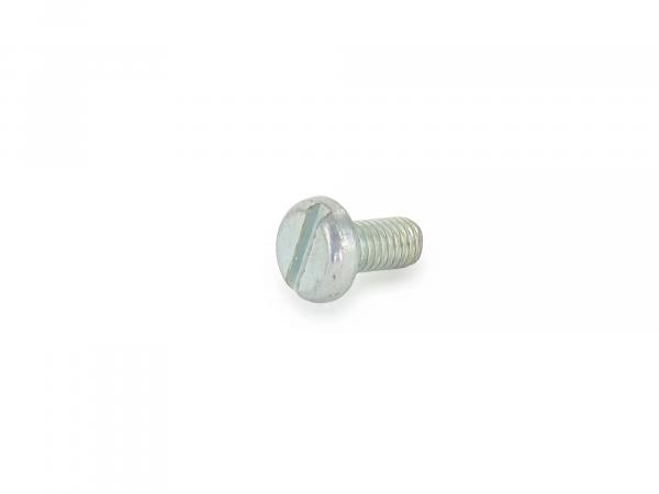 Flat head screw, slotted M6x12 - DIN85