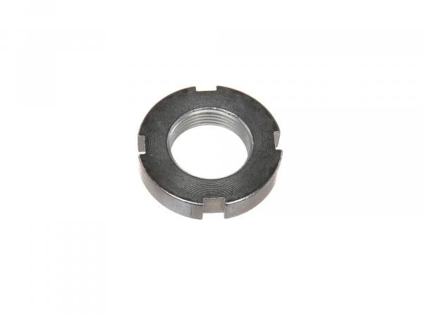 slotted nut M24x1,5 for fork guide, 9mm - for Simson S50, S51, S70, S53, S83, SR50, SR80, MS50