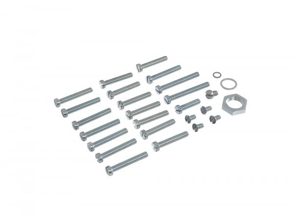 Set: Cylinder screws, slot for housing, cover S51, S70, S53, S83, SR50, SR80 Motor