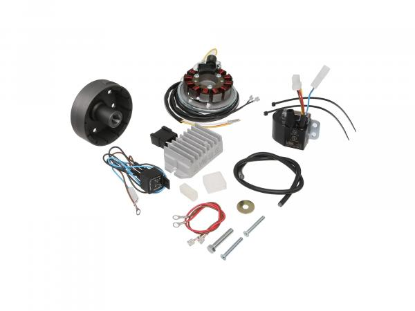 Alternator + ignition system 6V 100 W ES 175-300/0/1/2 and ETS 250