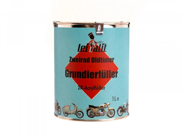 10016683 Grundierfüller 2K Leifalit für Lackfarbe, Hellgrau - 1Liter - Bild 1