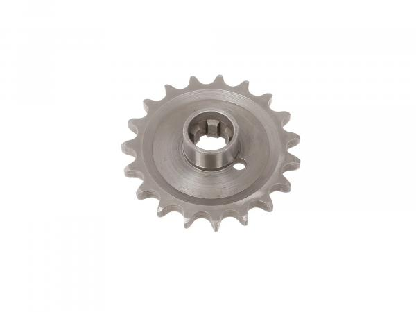 Sprocket on gear 19 teeth TS250