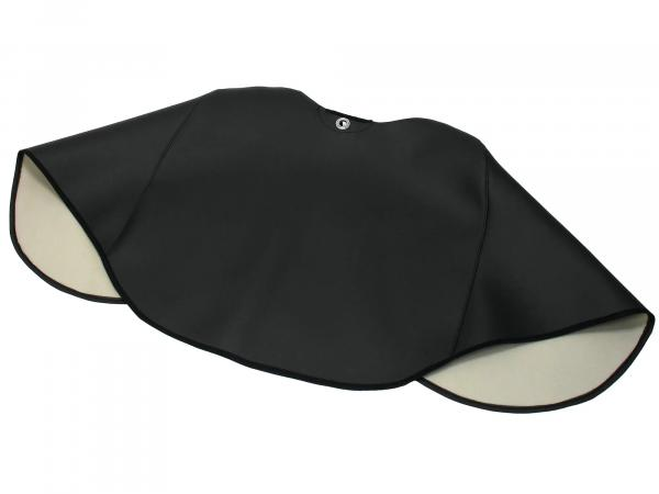 Knee protection blanket black, lined, handmade - Simson SR50, SR80