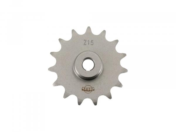 Output sprocket, sprocket 15 teeth (15Z.) for SR1, SR2, SR2E, KR50, SR4-1