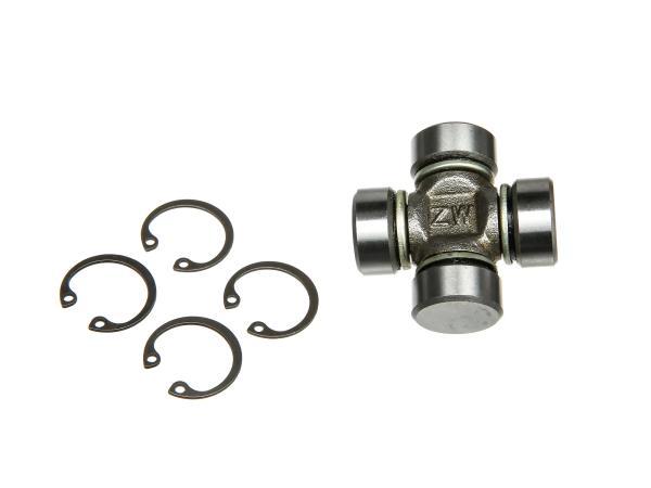 Gelenkkreuz, Kreuzgelenk mit Nadellager und Sicherungsringen für BK350