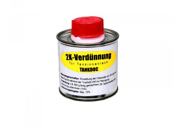 2K thinner for tank interior paint - 75g