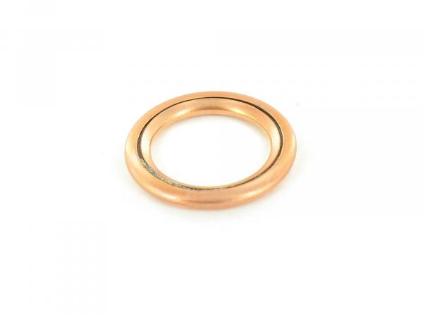 Sealing ring copper 12 x 18 for oil drain plug suitable for RT