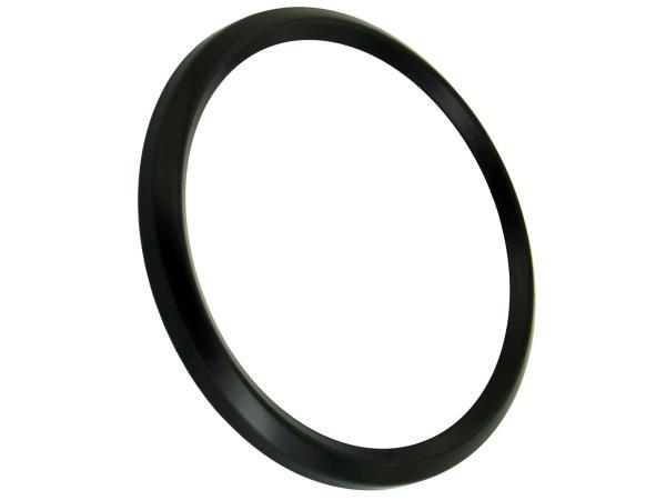 10044082 Frontring schwarz für Tachometer und DZM ETZ, TS, ETS (D=80mm) - Bild 1