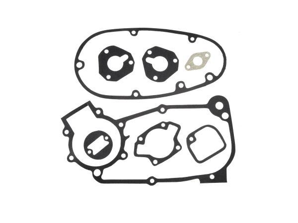 Gasket set complete - for Simson KR51/1 Schwalbe, SR4-1 Spatz, SR4-2 Star, SR4-3 Sperber, SR4-4 Habicht