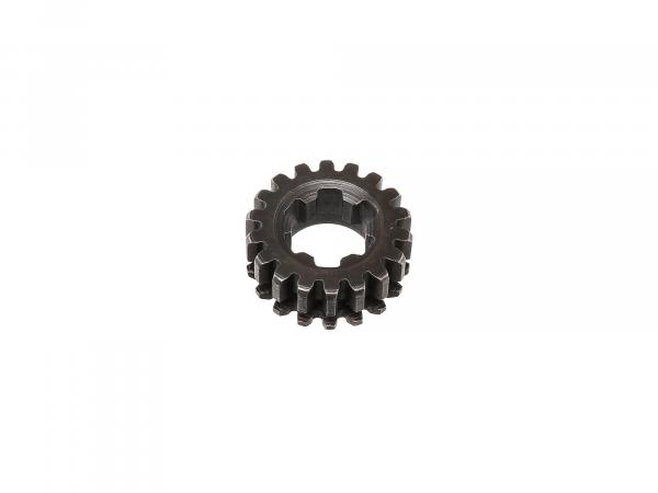 Wheel for 2nd gear (18 teeth) - for Simson S50, KR51/1 Schwalbe