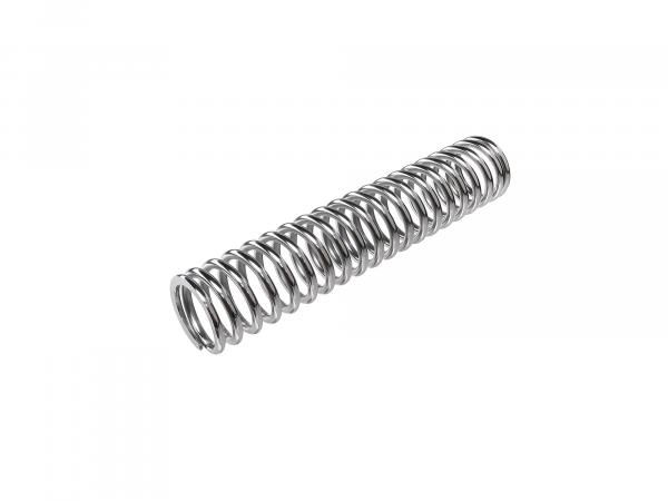 compression spring for front shock, chrome plated (Ø6,5, 270mm long, 20 turns) for ES125, ES150