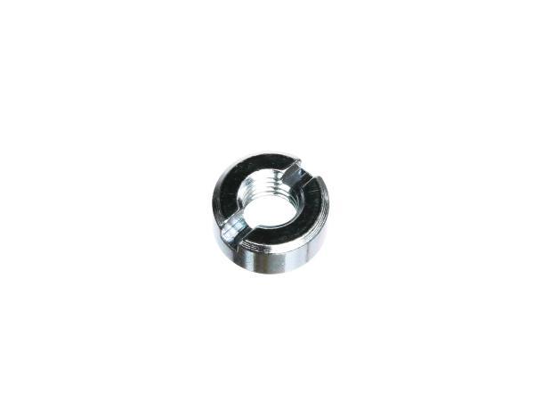 Schlitzmutter M10 verzinkt, DIN 546 passend für AWO 425 ( Vordergabel )