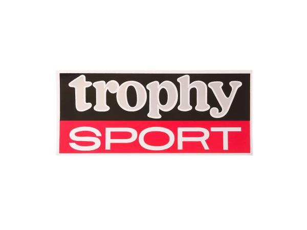 Schriftzug (Folie) Trophy Sport auf den Seitendeckel ETS250 Trophy