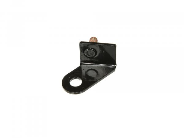 Mounting bracket for signal horn - black powder-coated
