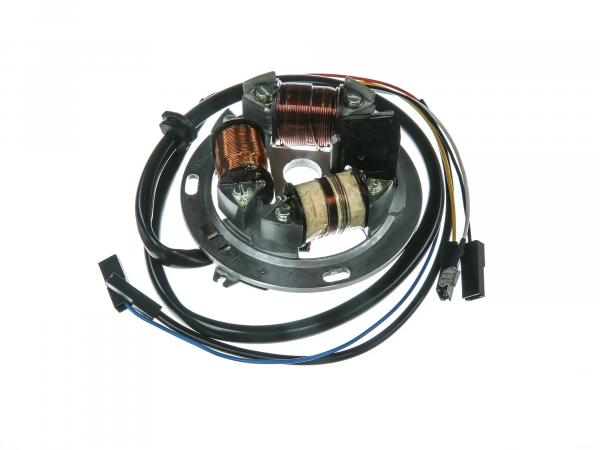 Grundplatte 8305.2/1-100, 12V Elektronik, 42/21W Halogen - für Simson SR50, SR80