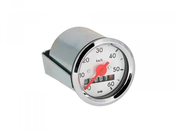 Speedometer Ø48mm for S50 up to 60 km/h
