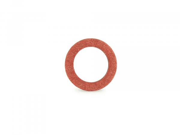 Sealing ring Ø 6,5x10x1 (Fiber) DIN 7603 for carburetor - Simson SR2, SR4-1 Spatz