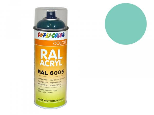 Dupli-Color Acrylic Spray RAL 6027 light green, glossy - 400 ml