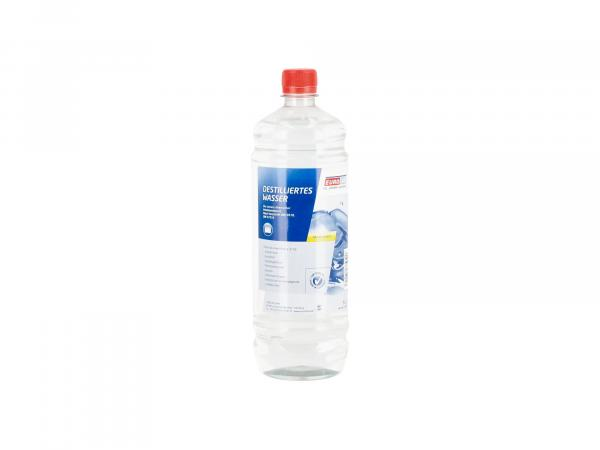 Destilliertes Wasser, nach VDE 0510, DIN 57510 - 1 Liter