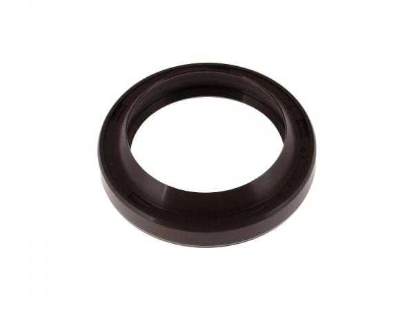 Oil seal 35x47x07, brown, high double lip for telescopic fork - for MZ ETZ, TS