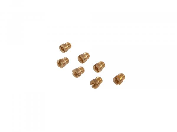 Set: Main nozzles (72-80) for BVF carburettor - Simson