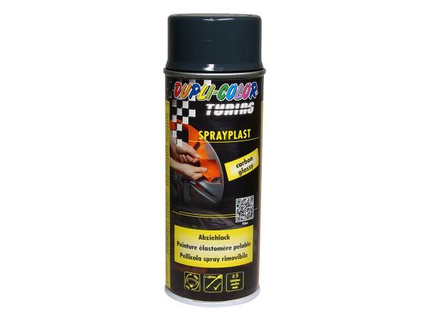 Dupli-Color Sprayplast Abziehlack, carbon, glänzend - 400ml