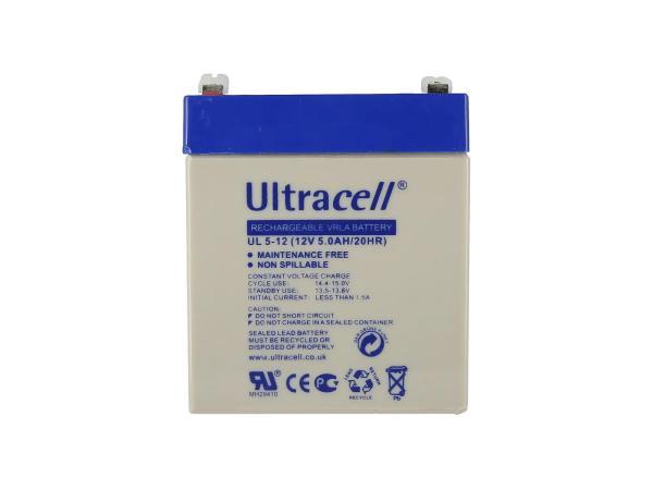 10069175 Batterie - 12V 5Ah Ultracell (Gelbatterie) - Bild 1