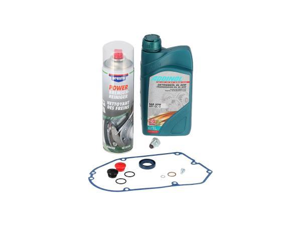 GP10000654 Set: Ölwechsel, Öl + Reiniger + Schrauben + Dichtungen - für Simson S51, SR50, KR51/2 Schwalbe - Bild 1