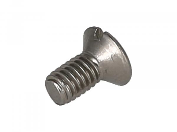 Slotted raised countersunk head screw, stainless steel M4x8 - DIN964